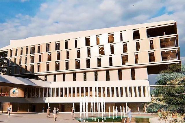 Im Sommer soll der Bauantrag für das Lörracher Zentralklinikum gestellt werden