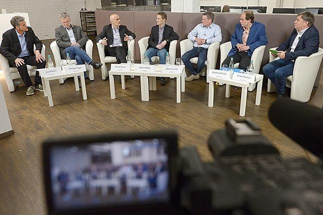 Video: So verlief die Dietenbach-Debatte im BZ-Haus