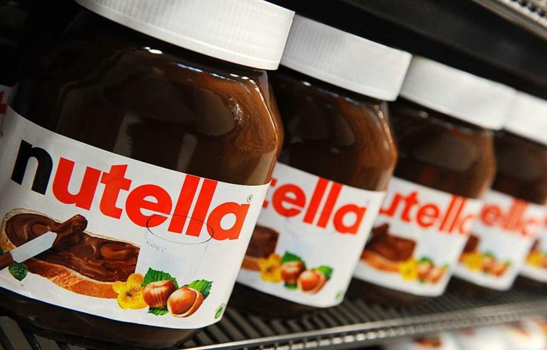 Im Einzelhandel gibt es unverändert Nutella.  | Foto: dpa