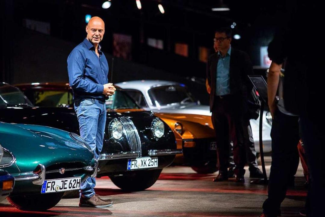 Viele Autos seiner Sammlung hat Martin... des Dekors in das Volante integriert.  | Foto: Volante