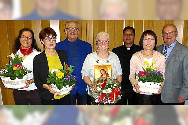 Veronika Früh seit 60 Jahren im Chor