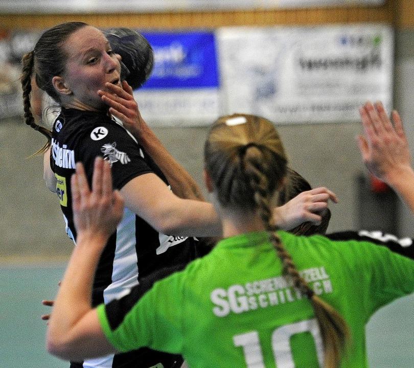 <BZ-FotoAnlauf>TuS Ottenheim:</BZ-Foto...n will mit ihren Kolleginnen punkten.   | Foto:  Pressebüro Schaller