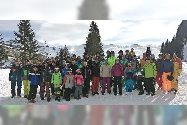 Skiausfahrt für die ganze Familie