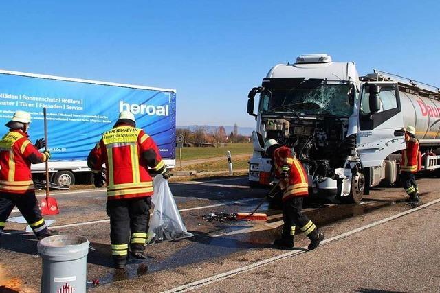 Rheinfelden: Schwerer Unfall auf der B316