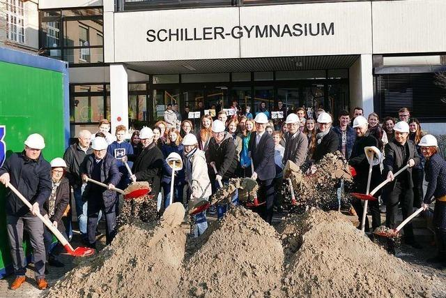 Offenburgs Schillergymnasium bekommt ein neues Stockwerk