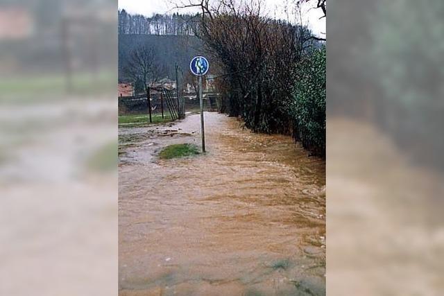 Hochwasser mit Folgen