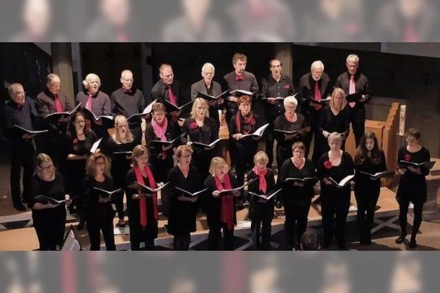 Chor Voices in Motion singt Haydns Jahreszeiten