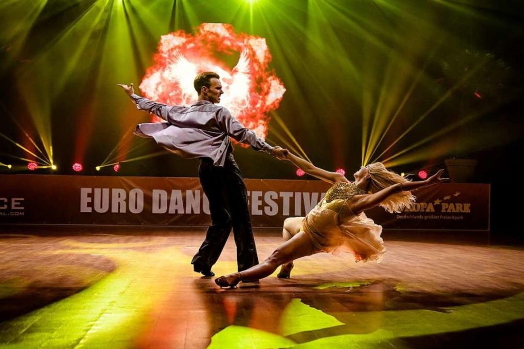 Sechs Tage lang wird beim Euro Dance Festival getanzt.  | Foto: Valentin Behringer