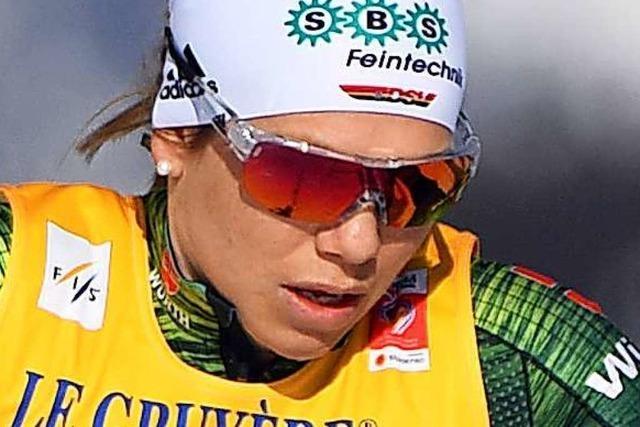 Sandra Ringwald sprintet zum Auftakt auf Platz zwölf