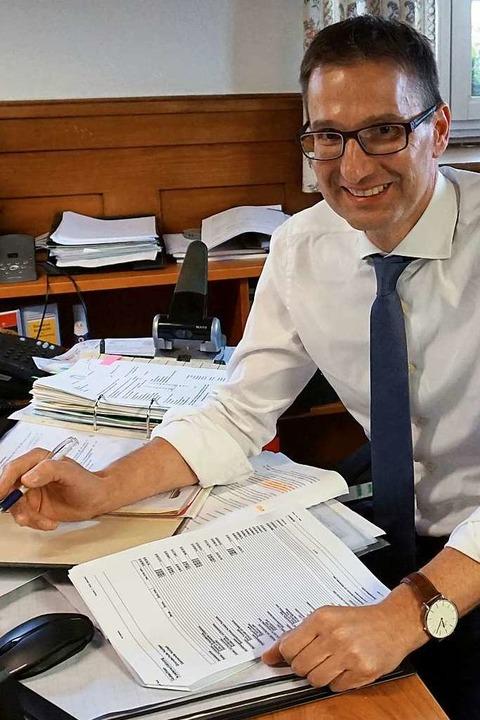 Markus Riesterer war 16 Jahre ehrenamtlicher Bürgermeister in Horben.    Foto: Julius Wilhelm Steckmeister