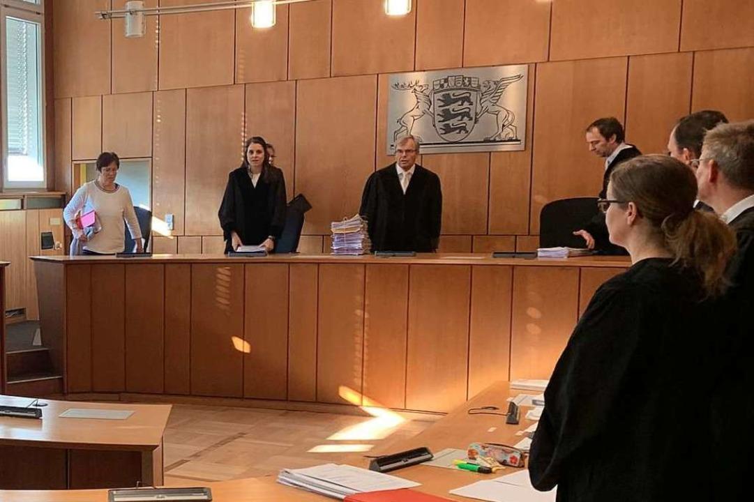Auftakt zum sechsten Prozesstag, an dem plädiert wurde    Foto: Seller