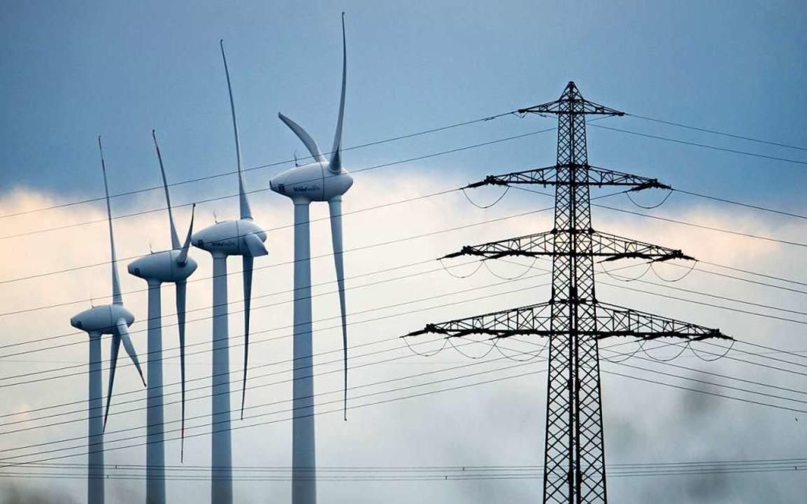 Der Windstrom muss in den Süden transportiert werden.    Foto: dpa