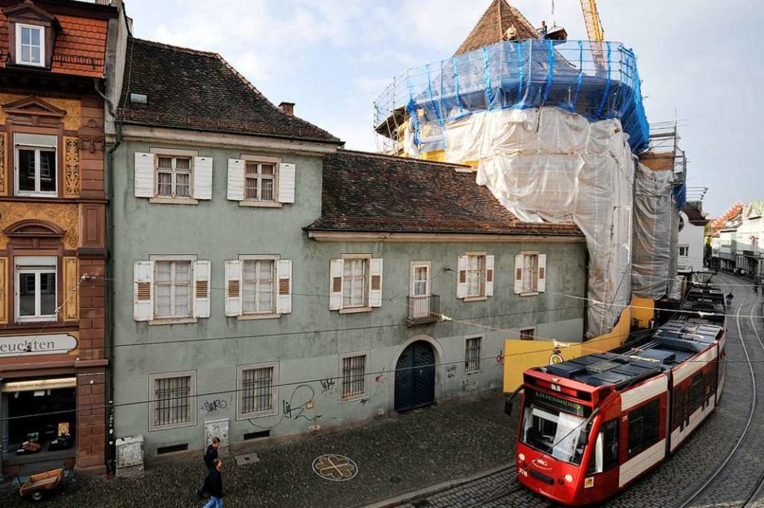 Im Herbst 2008 war das Dach des Augustinermuseums zeitweise offengelegen.  | Foto: Ingo Schneider