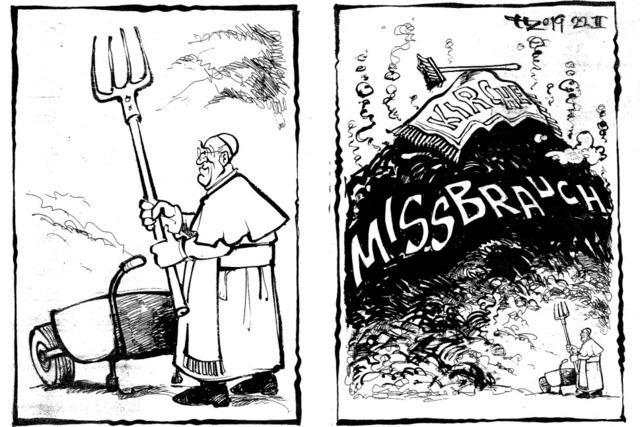 Der vatikanische Herkules vor dem Ausmisten