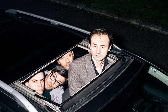 Die Indierockband Kreisky kommt ins Teng