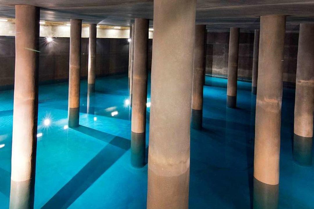 Blick in die Wasserkammer in Freiburg-Ebnet  | Foto: A. J. Schmidt