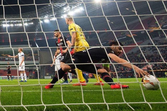 Bayer Leverkusen scheidet auch in Europa League aus