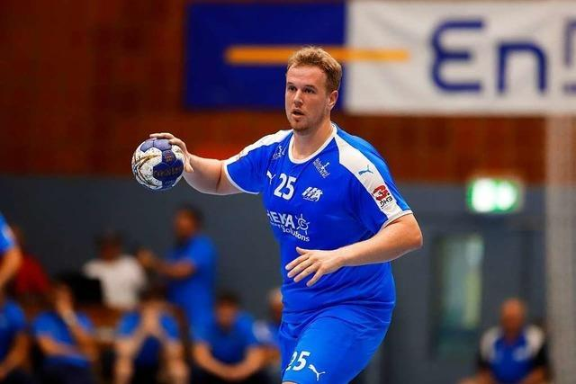 Felix Gäßler will mit dem TV Willstätt die 3. Liga halten