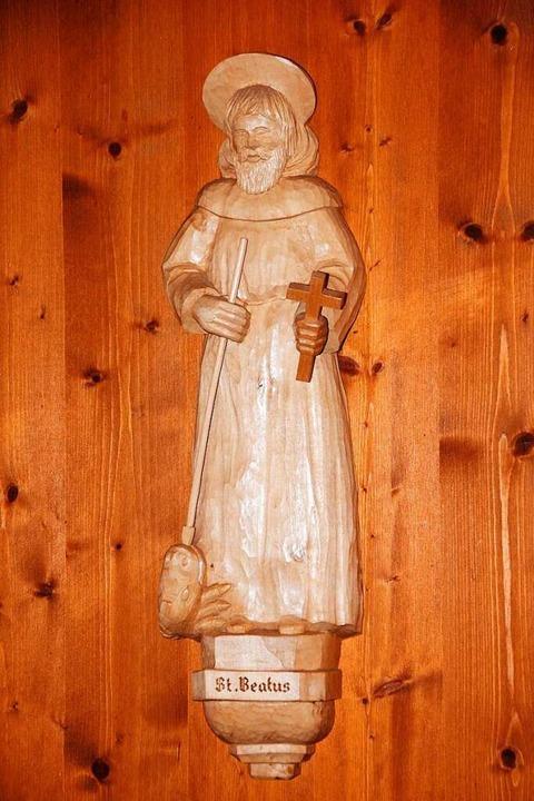 Die Figur des heiligen Beatus.  | Foto: Manfred Frietsch