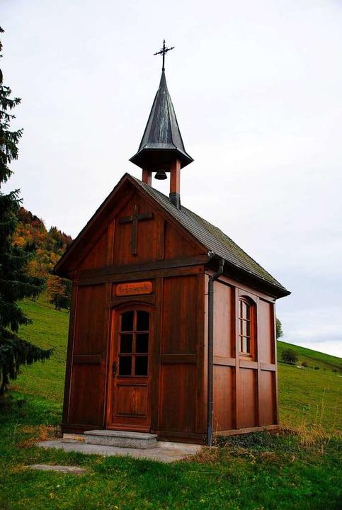 Die ihm geweihte Kapelle am Beatenhof ... der nach früheren Hofbesitzern heißt.  | Foto: Manfred Frietsch