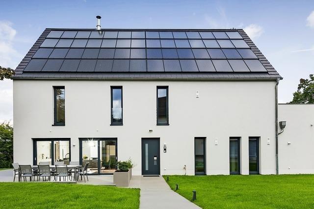 Wie energieeffizient sind die Häuser?