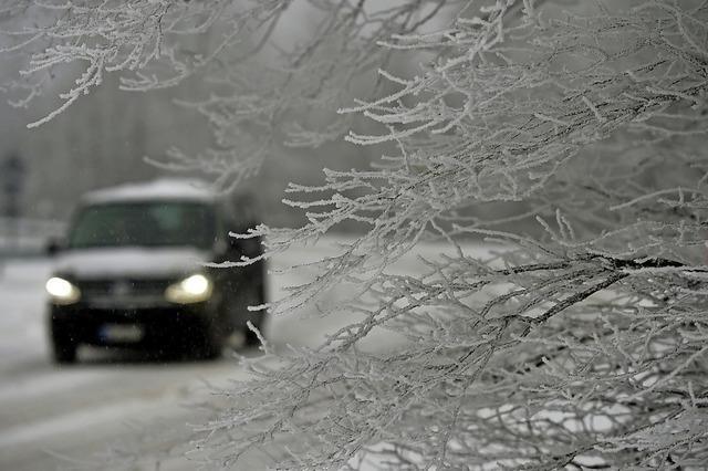 Wärmespender im kalten Auto