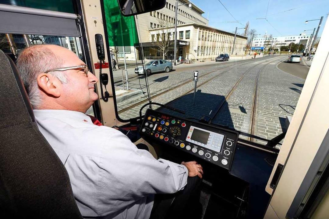 Auf dem Rotteckring müssen die Fahrer ...arc Ravoux nach seiner Premierenfahrt.  | Foto: Thomas Kunz