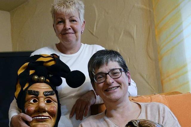 Ein Frauen-Duo führt die Friesenheimer Fasentzunft – nicht immer ohne Gegenwind