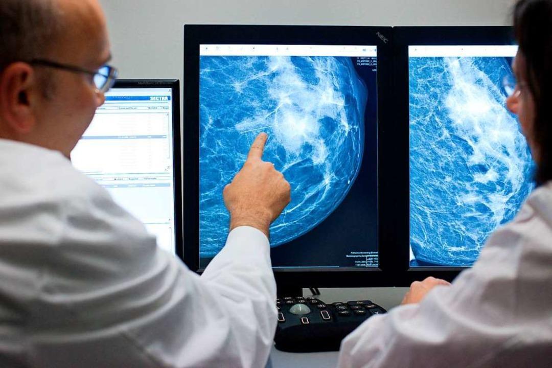 Das Bild einer Mammographie  | Foto: Friso Gentsch