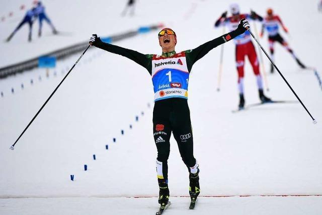 Eric Frenzel gewinnt das erste WM-Gold für Deutschland