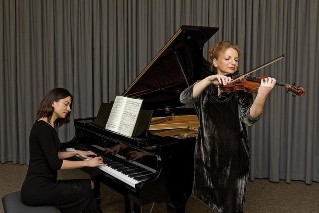 Kammerphilharmonie Lahr lädt zum Gesprächskonzert mit den Solistinnen Natalia Movchan und Saskia Mährlein