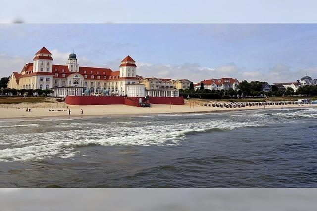 Flusslandschaft der Oder und die malerischen Inseln der Ostseeküste in Müllheim