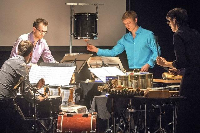 Black Forest Percussion Group gastiert im Schlosskeller Tiengen