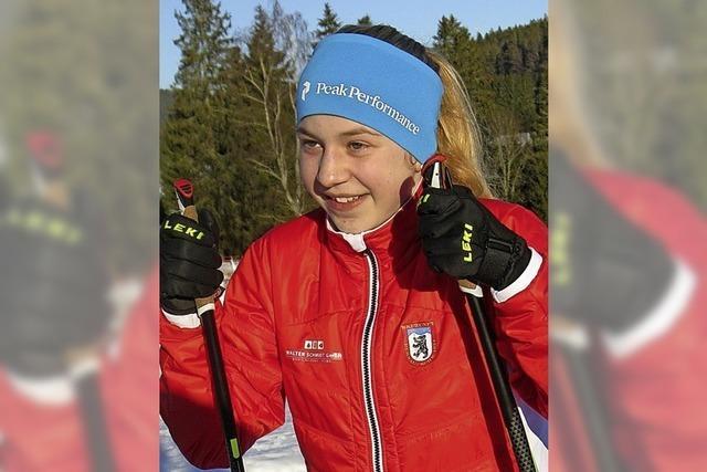 Cosima Günther beim Schülercup