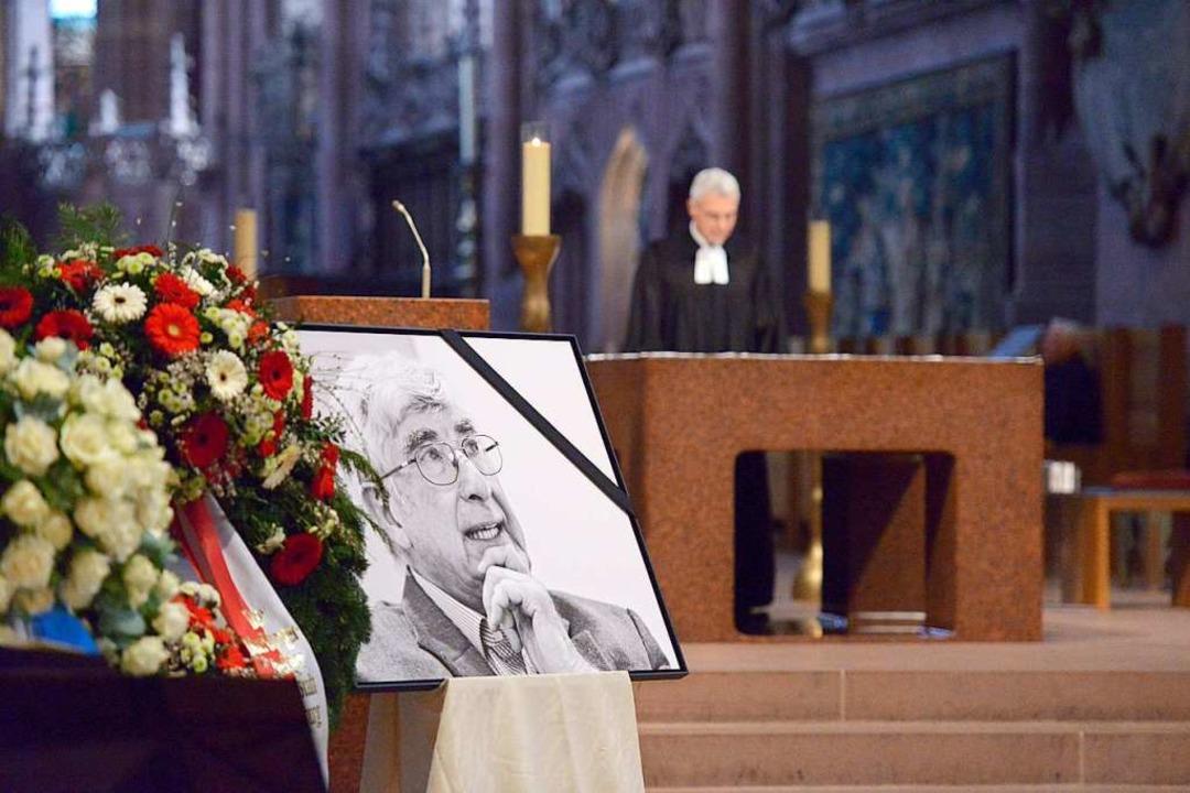 Der evangelische Dekan Markus Engelhardt sprach die Predigt.  | Foto: Ingo Schneider