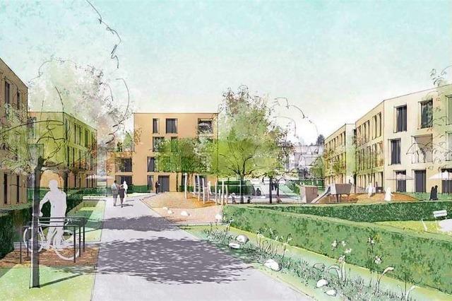 So soll das neue Wohngebiet in Binzen aussehen