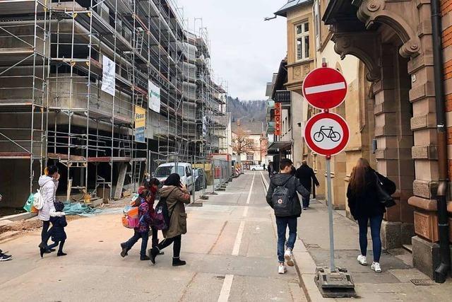 Wie die Fußgängerzone Scheffelstraße in Schopfheim aussehen könnte