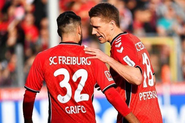 Grifo erzielt erstes direktes Freistoßtor in der Bundesliga