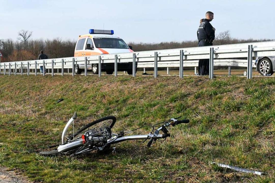 Der Unfall ereignete sich am  Samstagn...it Hohberg-Niederschopfheim verbindet.  | Foto: Wolfgang Künstle