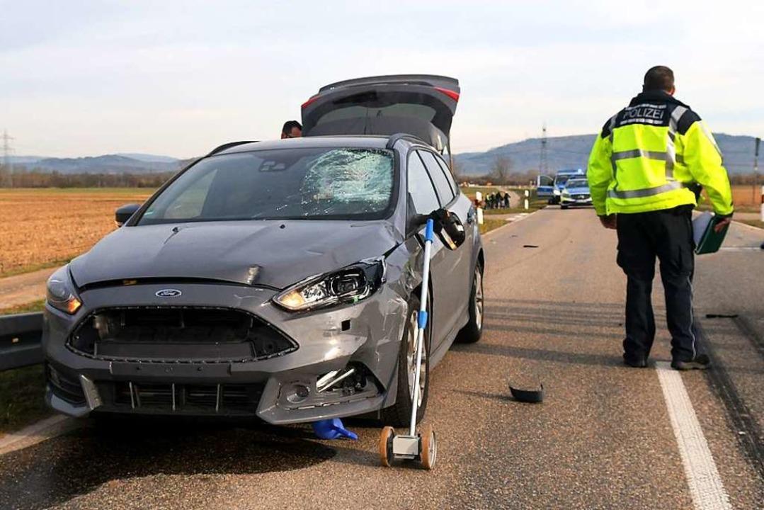 Der Pedelec-Fahrer kollidierte beim Überqueren einer Straße mit einem Pkw.  | Foto: Wolfgang Künstle