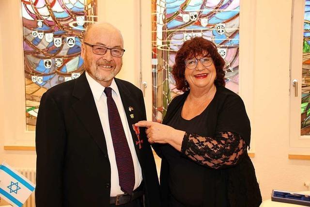 Johannes Reiner erhält Bundesverdienstkreuz