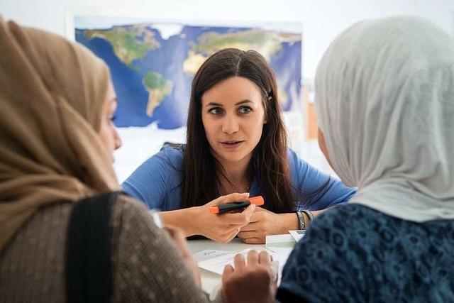 Bei einem Workshop können sich Bürger über Integration beteiligen