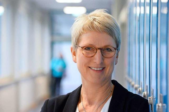 Elke Storz leitet die Weiherhof-Realschule in Herdern – und näht auch richtig gut
