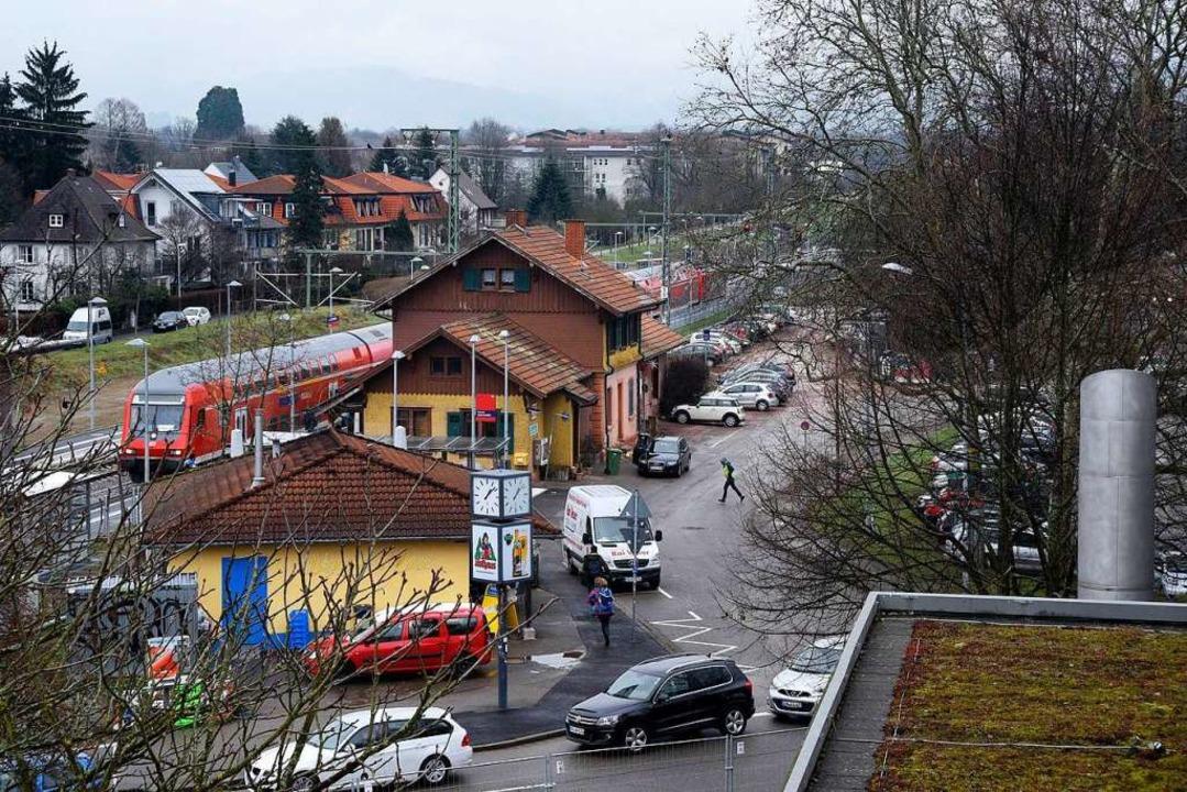 Die Auseinandersetzung fand im Bereich...nhofs Littenweiler (Archivfoto) statt.  | Foto: Thomas Kunz
