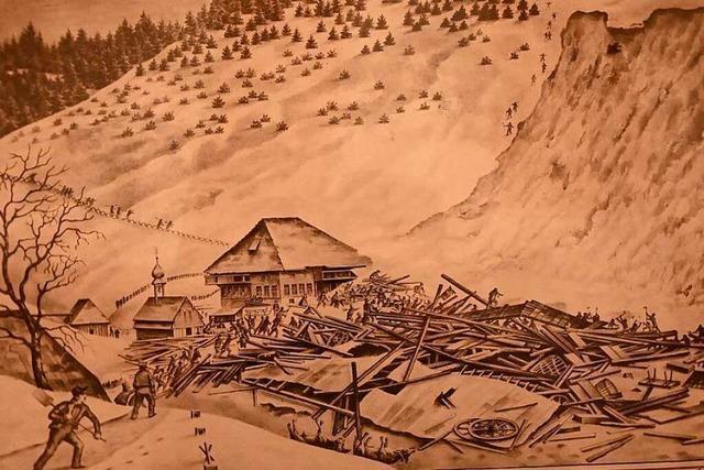 Vor 175 Jahren starben 16 Menschen im Schwarzwald nach einer Lawine