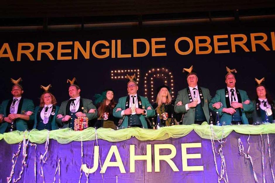 Die Narrengilde feiert ihren 70. Geburtstag (Foto: Horatio Gollin)