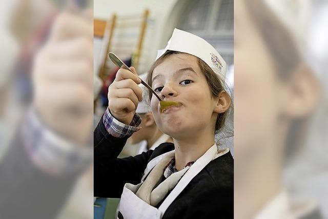 Mit Kindern kochen und das Essen genießen