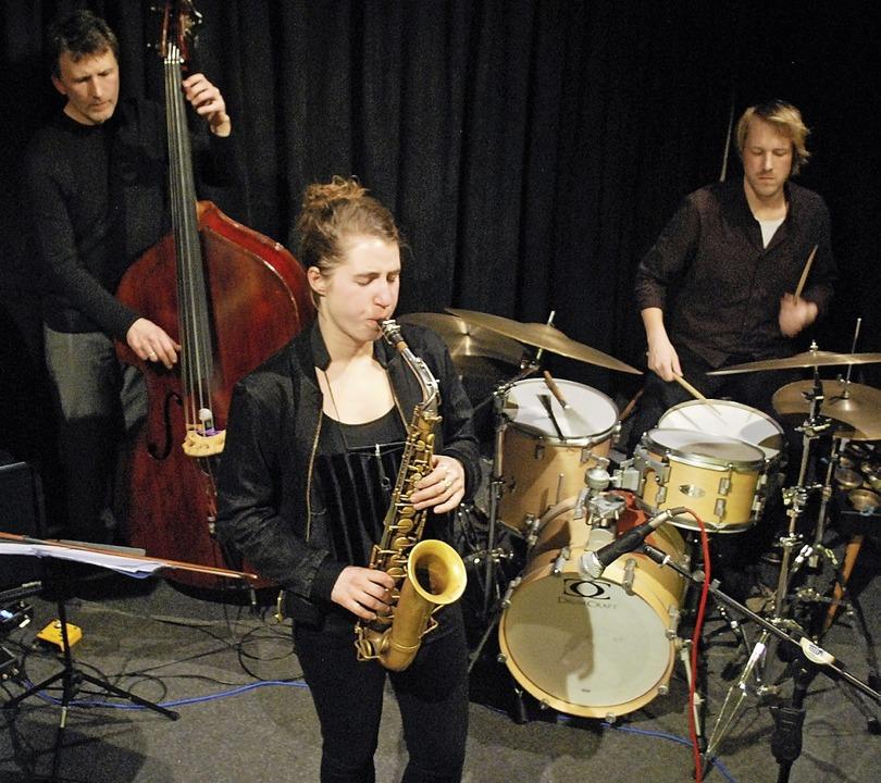 Das Lisbeth Quartett mit Marc Muellbau... und Moritz Baumgärtner am Schlagzeug.  | Foto: Thomas Loisl Mink