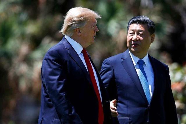 Trump verlängert Frist im Handelsstreit zwischen USA und China