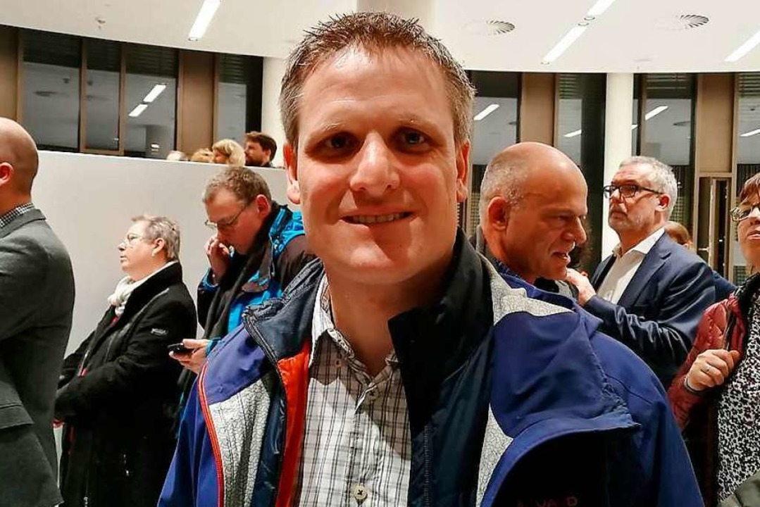 Landwirt Martin Linser hatte sich mehr...men für die Dietenbach-Gegner erhofft.  | Foto: Anika Maldacker